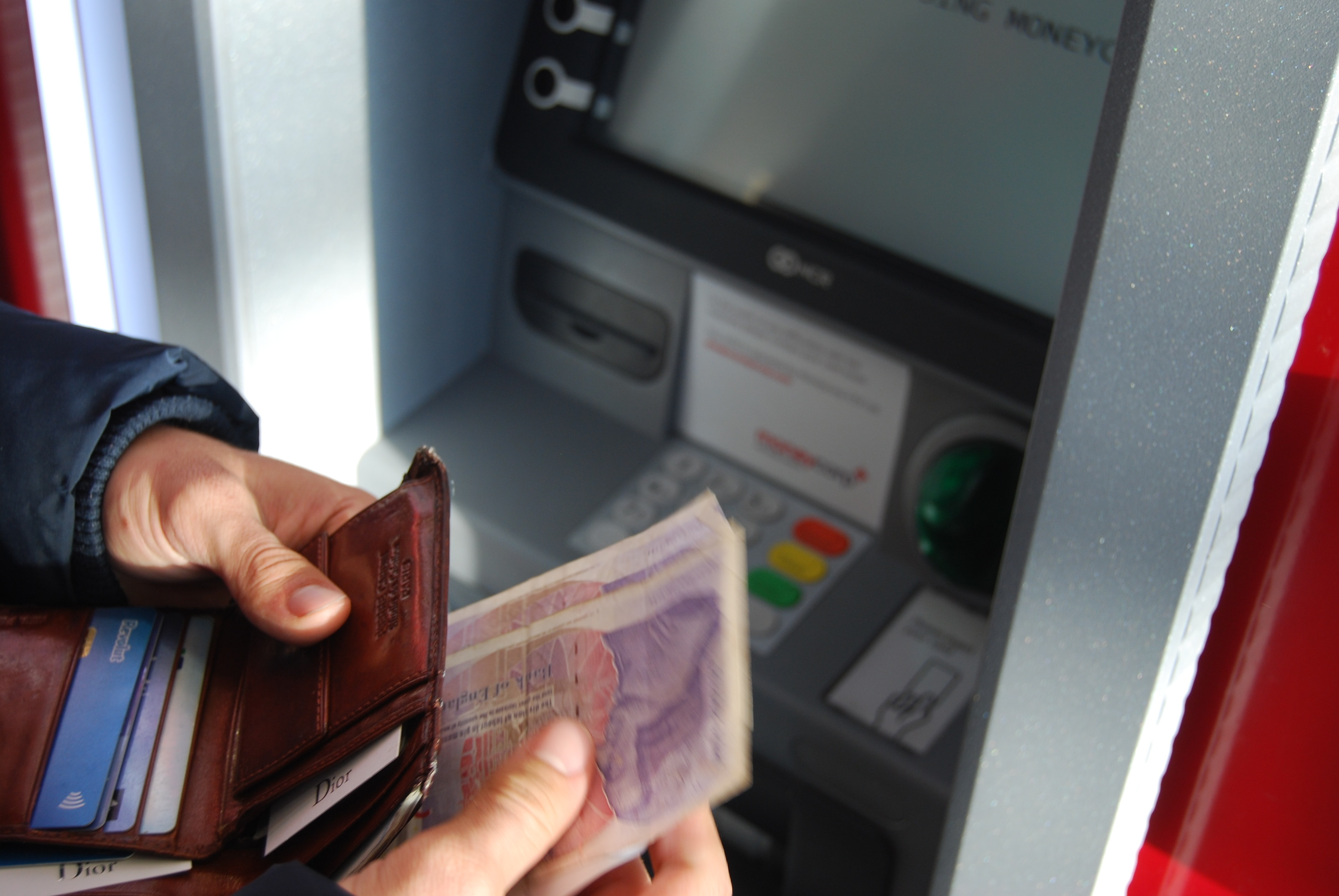 I Am Absolutely Against Using Atms To