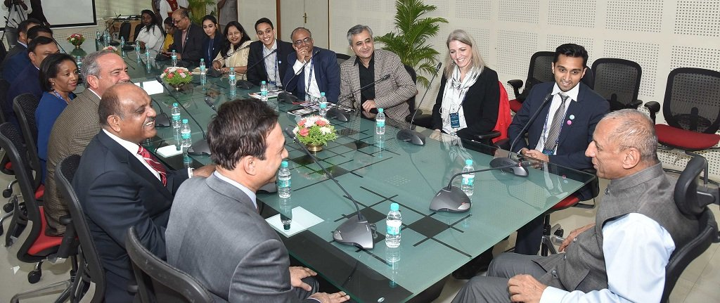Navin Pathak in US Delegation to Meet Governor of Telangana